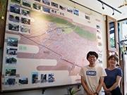 東大阪・瓢箪山で「ぼくらのひらおか まちあるき会」発足 カフェでパネル展開催