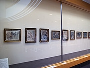 東大阪で「須田剋太展」先行展示 「街道をゆく」挿絵や抽象画など26点