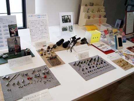 東大阪企業が国内で初めて開発した製品を展示