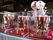 東大阪・旧河澄家で「祭礼展」 石切・枚岡地区のミニチュア布団太鼓展示