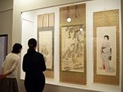大阪商業大学で「大坂四条派」企画展 商家の床の間飾った「大坂らしい上品さ」