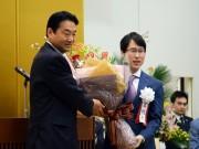 囲碁棋士・井山裕太さんの故郷、東大阪で囲碁フェス 地元参加者らが祝福