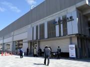JRおおさか東線「衣摺加美北駅」で開業前の見学会 シンボルカラーは露草色