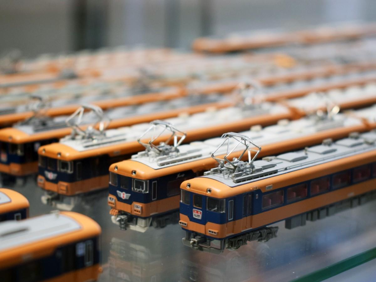 関西の鉄道をテーマに模型や鉄道写真などを展示