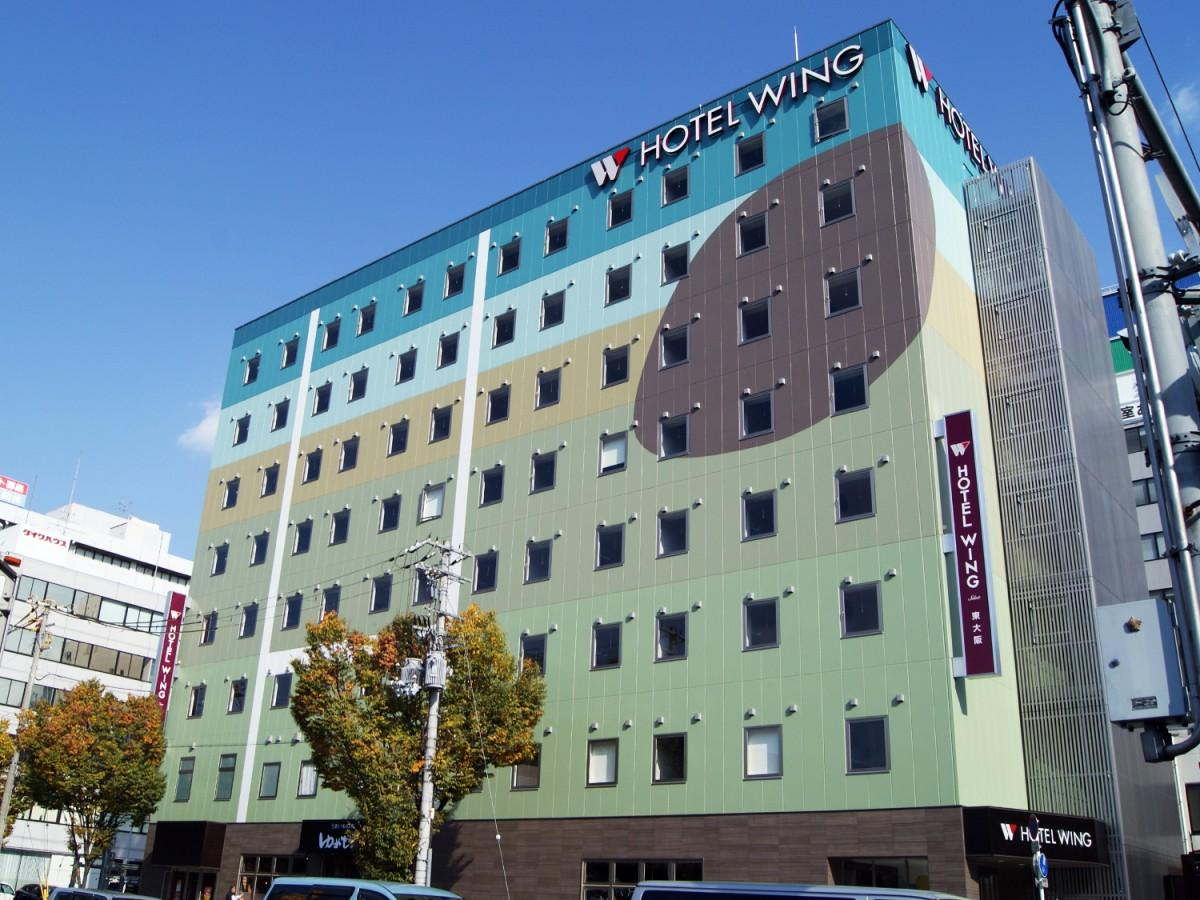 ホテルウィングインターナショナルセレクト東大阪外観