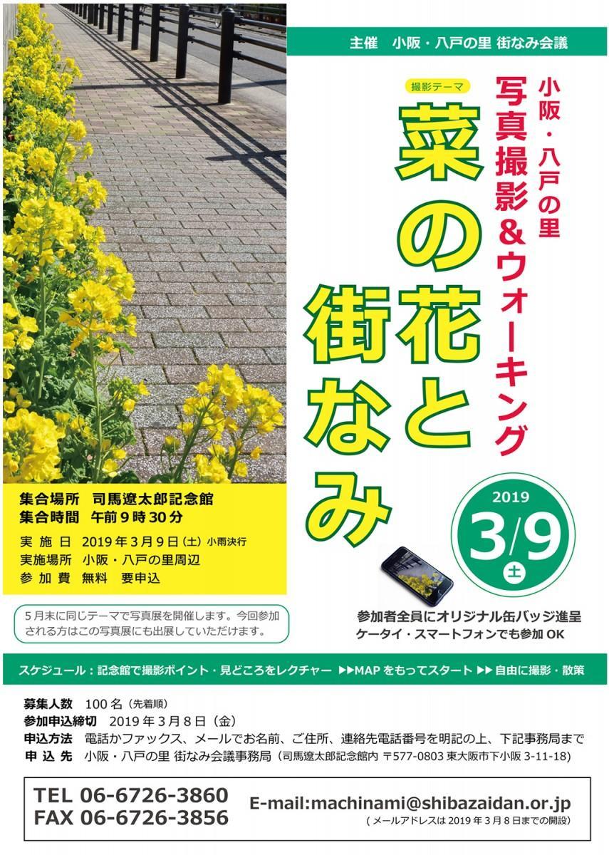 小阪・八戸の里 写真撮影&ウォーキング