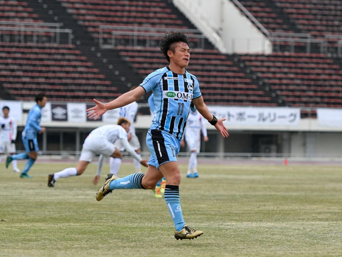 FC大阪のエースFW川西、東大阪初ゴールを決めるか