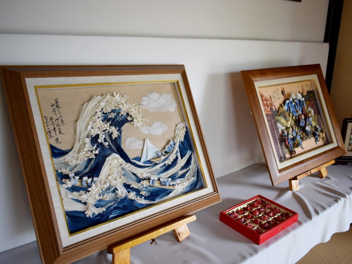 折紙創作家・坂上慧ミ子さんの作品