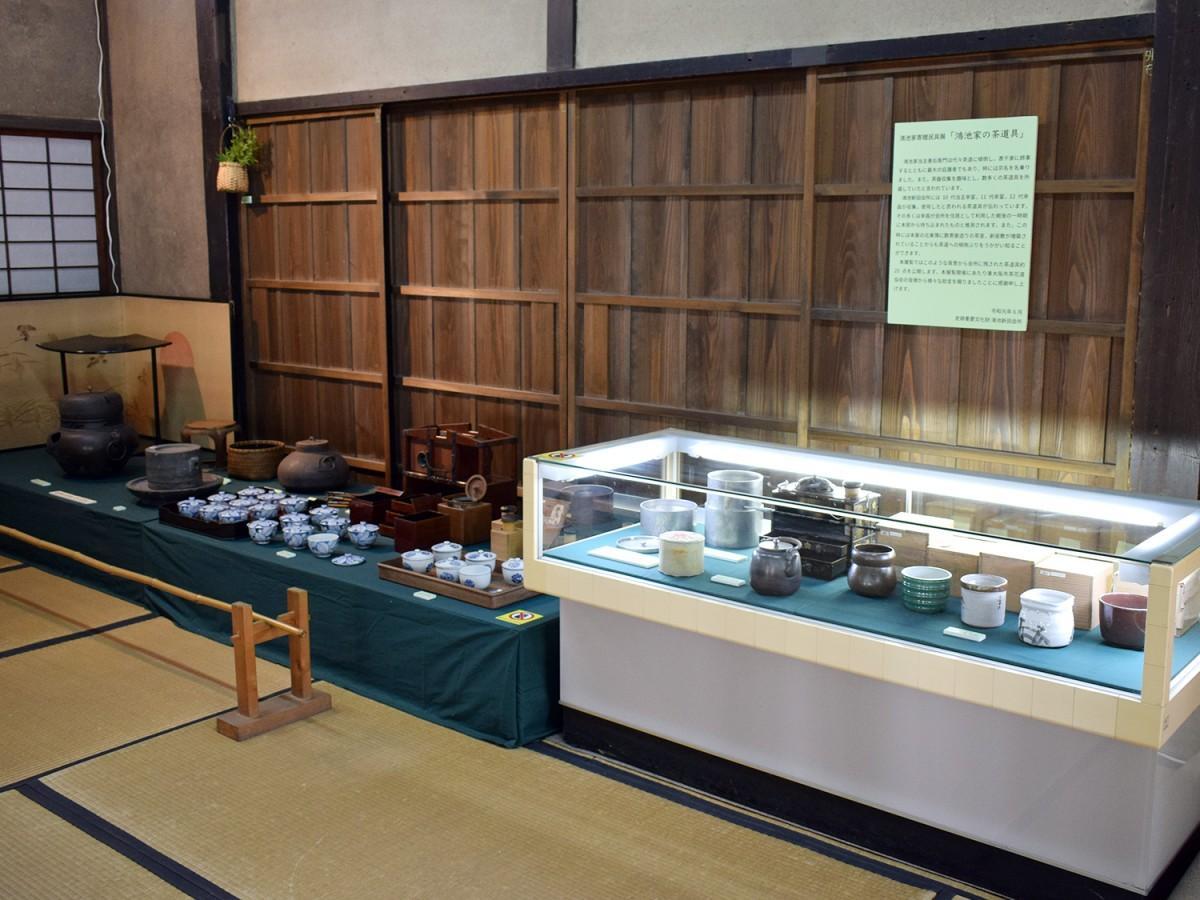 鴻池家寄贈民具展「鴻池家の茶道具」