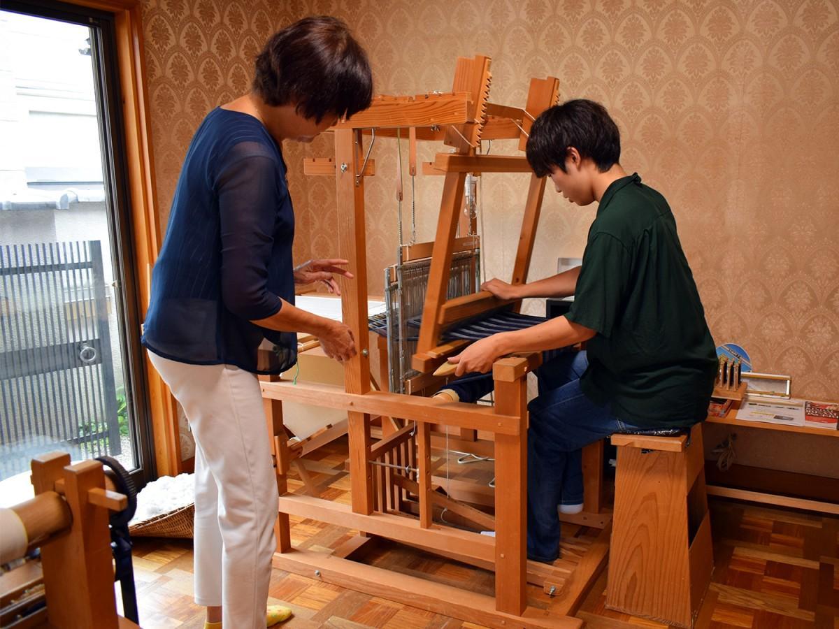 東大阪地産の河内木綿に触れる体験