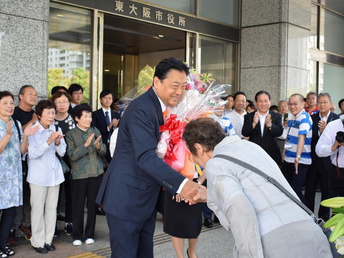 野田義和東大阪市長