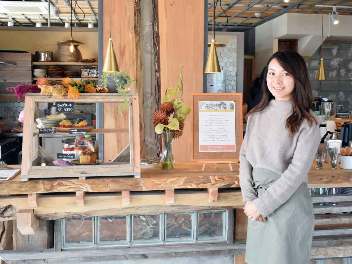 同店オーナーの大和夏花さん