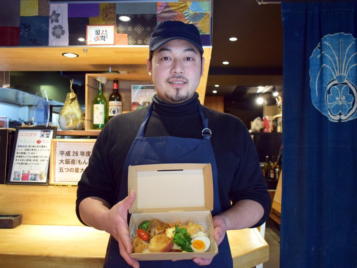 お野菜料理ふれんちんの白山登茂和さん