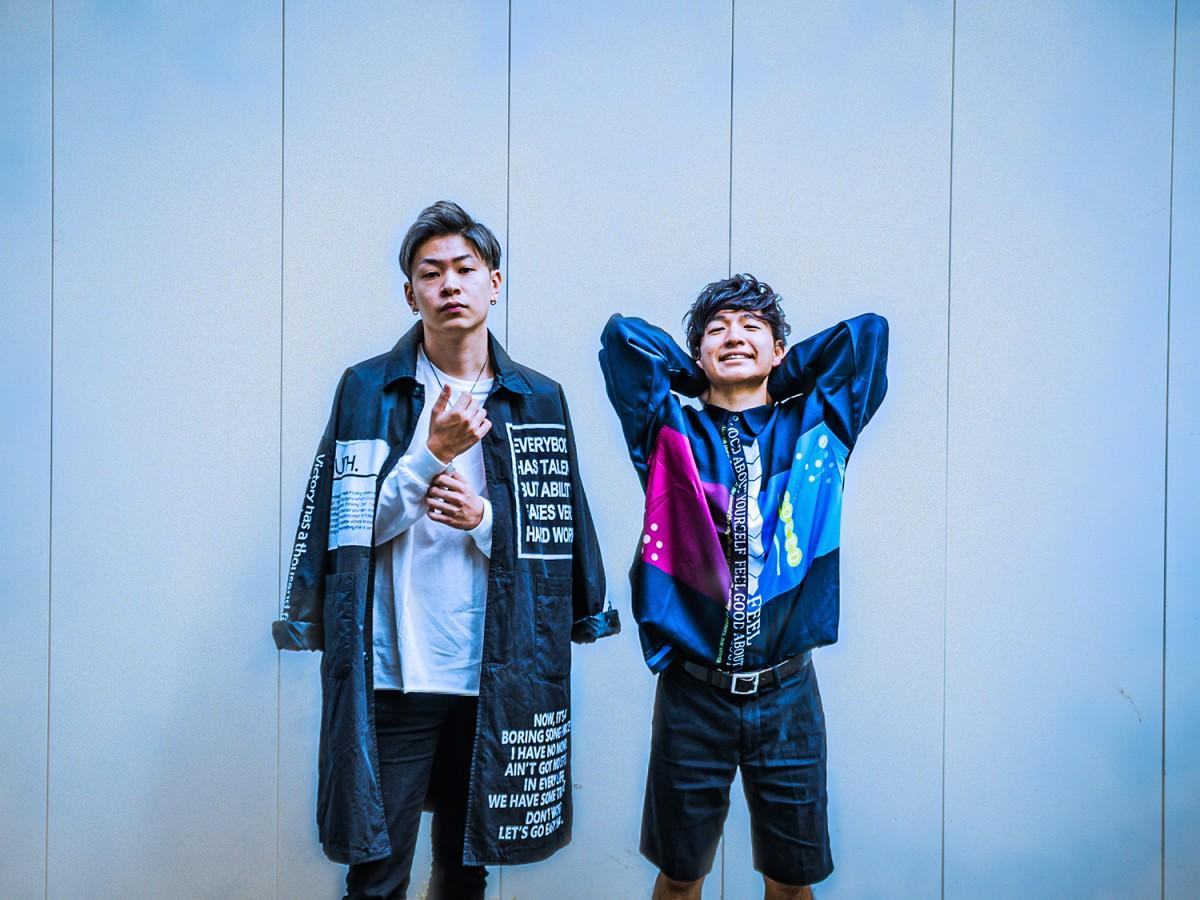 音楽ユニット「Last Star」のryosukeさん(写真左)とyutoさん(同右)