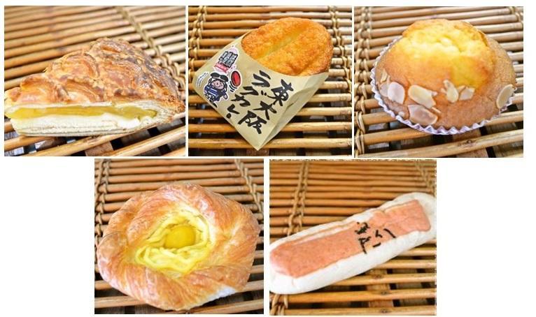 東大阪市内のローソンで販売する「パン工房鳴門屋」の5商品