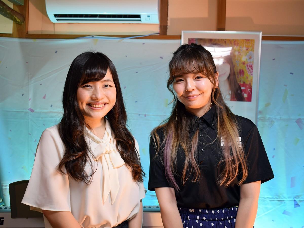 若林美樹さん(写真右)と渡辺明日香さん(同左)