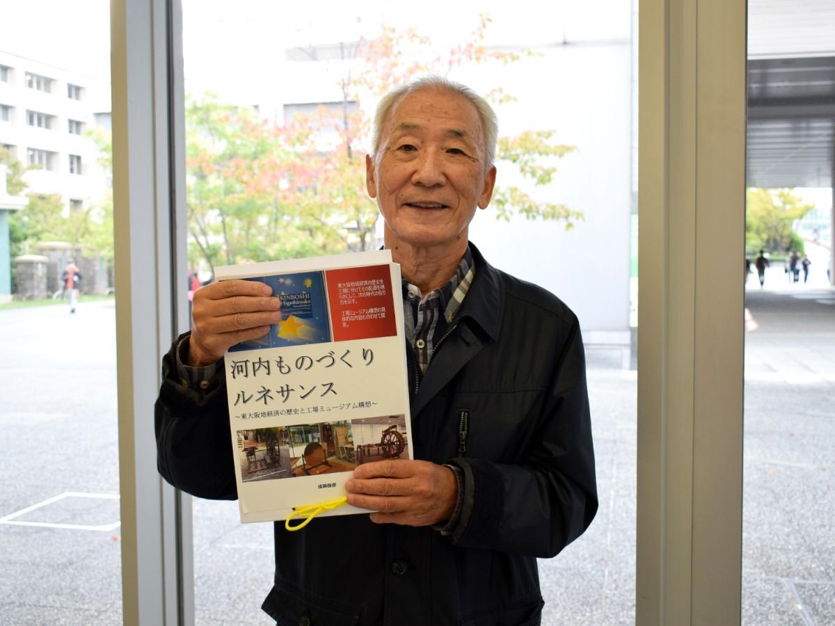 「工場を記録する会」顧問の成瀬俊彦さん