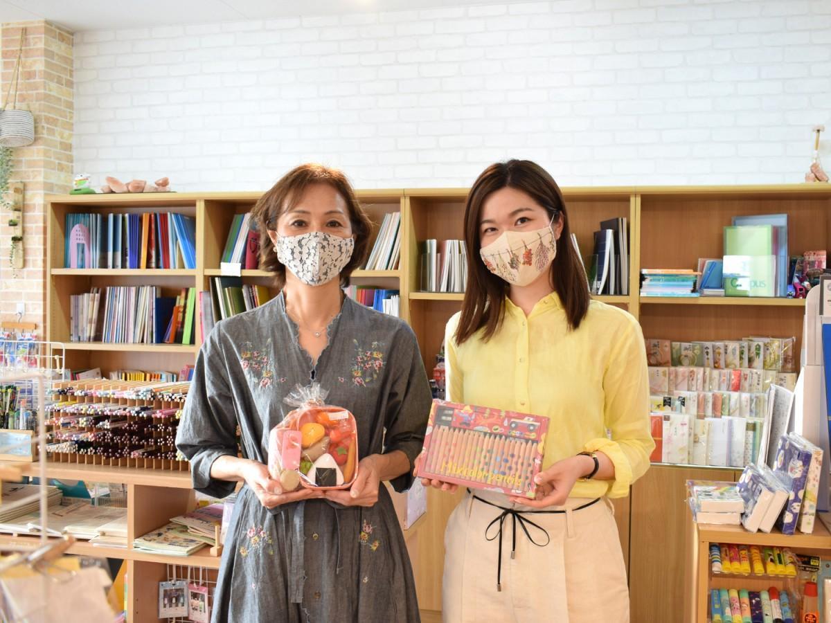 社長の竹中恵子さん(左)と長女の髙田彩乃さん(右)