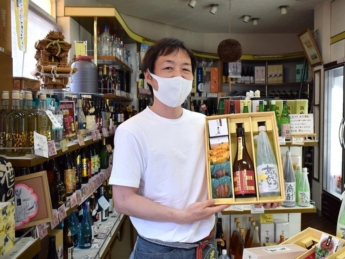 「酒のにしだ」の西田祥一さん
