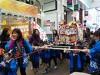 東大阪・瓢箪山で「ひょうたん干支みこしパレード」 アーケードに元気な声響く
