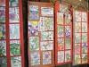 東大阪・旧河澄家で「絵手紙展」 地域グループの絵手紙ずらり700点
