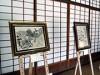 鴻池新田会所で須田剋太展 「街道をゆく」挿絵原画や50年前の抽象画展示