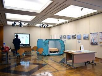 東大阪市役所で防災パネル展 「さまざまな避難方法を知って考えて」