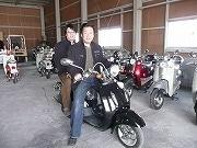 2人乗り電動スクーター「エルドラド」-姫路の企業が開発、受注開始