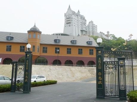 19日から一般公開が始まった白鳥城。
