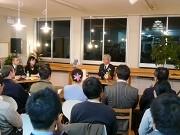 姫路でインタビュー講座「百人の哲学」-1回目は元JC会頭・米谷さん