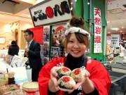 姫路・山陽百貨店で「チャーシューおにぎり」販売会-播州名物目指す