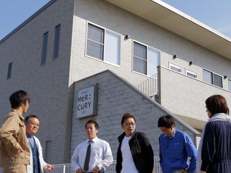 「空間デザイン」の普及を目的とするキャンペーンを実施する「マーキュリー」(姫路市豊富町)で社員ら