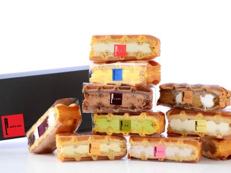 ワッフルケーキ専門店「エール・エル」が提供する「ワッフルケーキ」