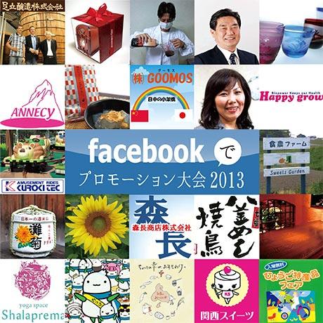 兵庫県内22の中小事業所がエントリーして始まった「Facebookでプロモーション大会2013」[資料写真]
