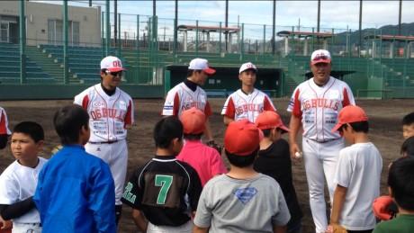 東大阪市 花園セントラルスタジアムで開催した様子。