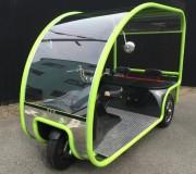 姫路の企業、電動3輪車を開発-観光地などでの利用を想定