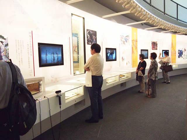 北館の常設展示室