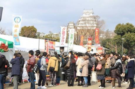 姫路バーガー博覧会2016の様子