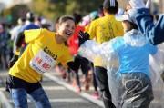 姫路城マラソン過去最多11,460人が参加 声援バックに姫路の街を駆け抜ける
