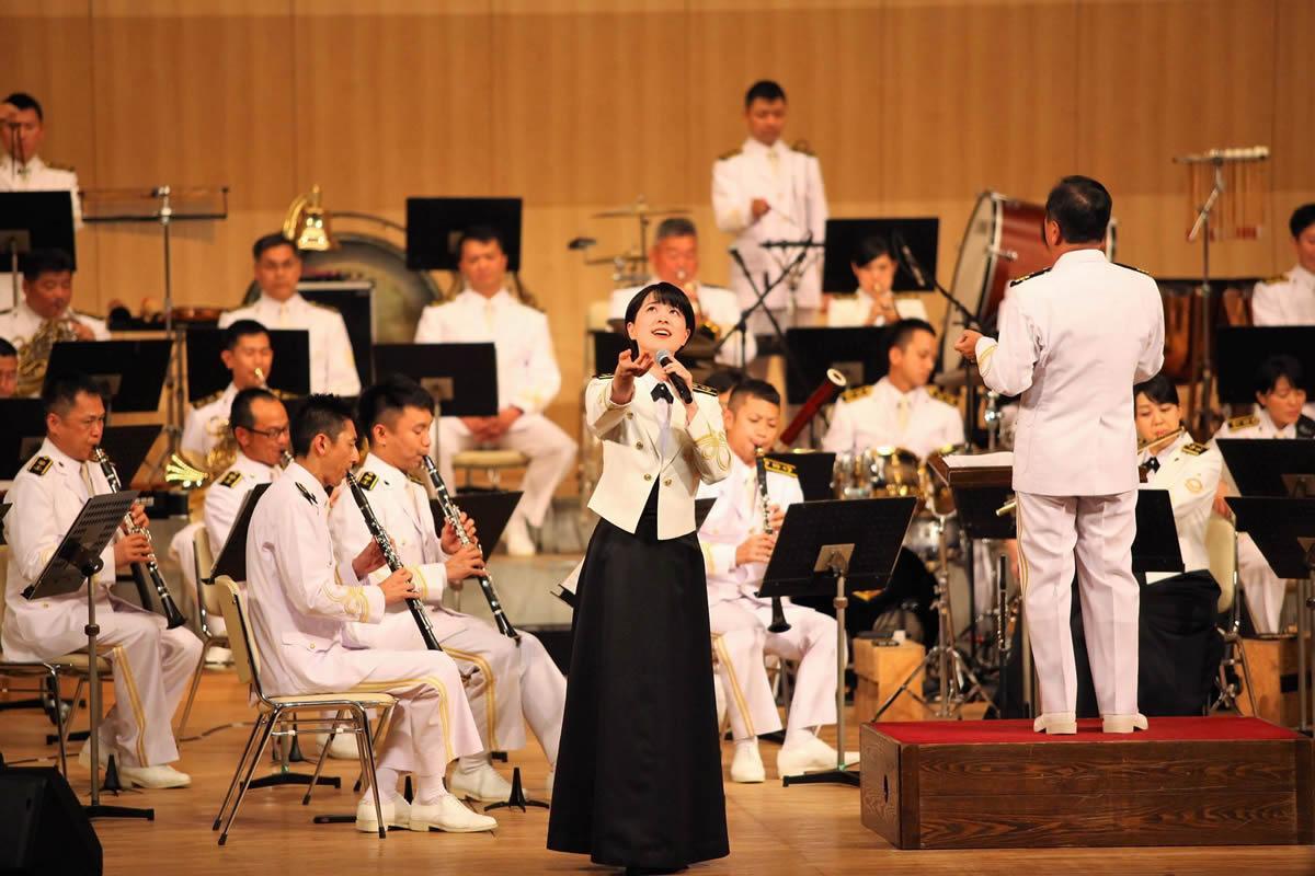 海上自衛隊東京音楽隊演奏会・姫路で初開催