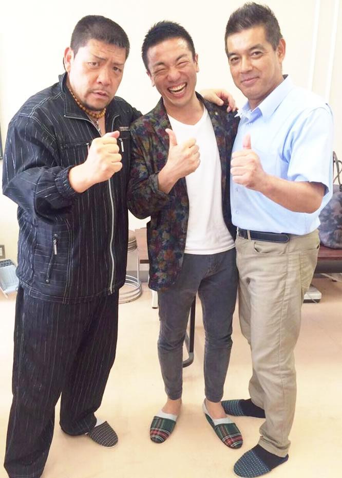 (左)三輪光さん、(中央)大嶋啓介さん、(右)別所慶吉さん