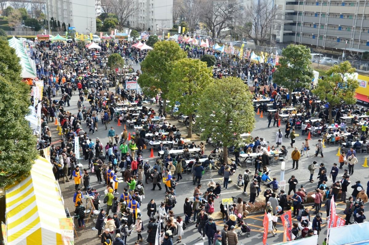 埼玉県和光市で開催された「ニッポン全国鍋グランプリ」の様子