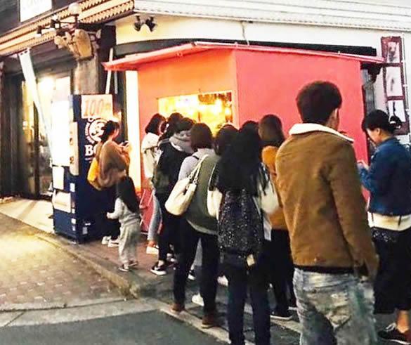 チーズハットグ専門店「nijiiro(ニジイロ)」
