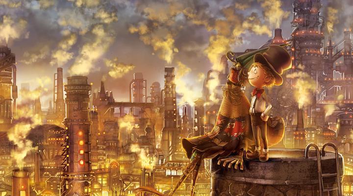 画像:西野亮廣さんの絵本「えんとつ町のプペル」より