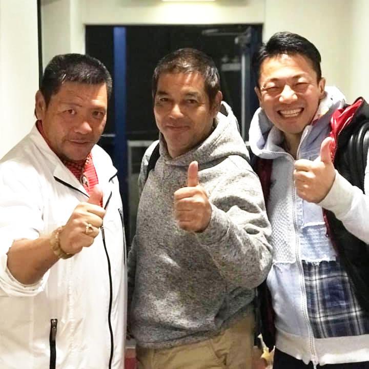 三輪光さん(左)、別所慶吉さん(中央)、大嶋啓介さん(右)
