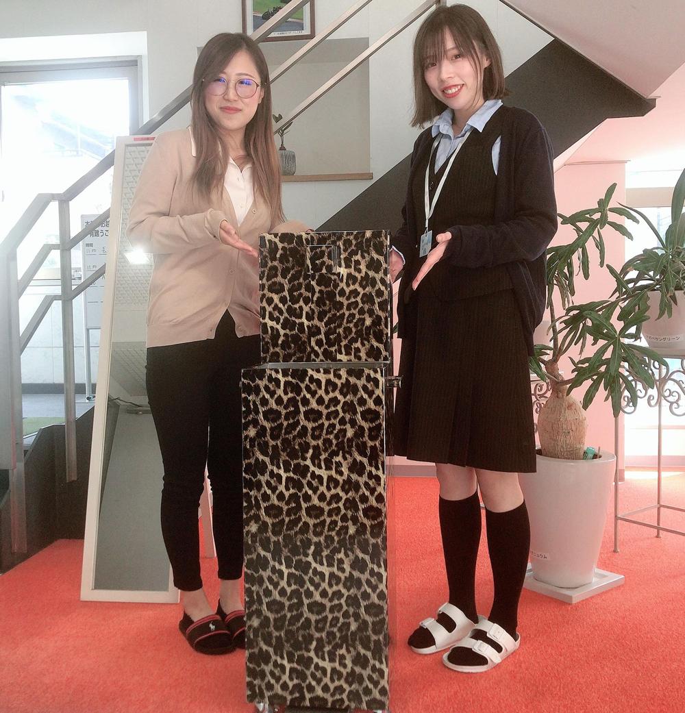 中川由稀さん(左)と阪瑞希さん(右)