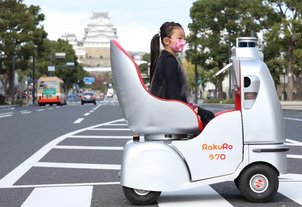姫路で11月2日に始まった自動運転モビリティの社会実験