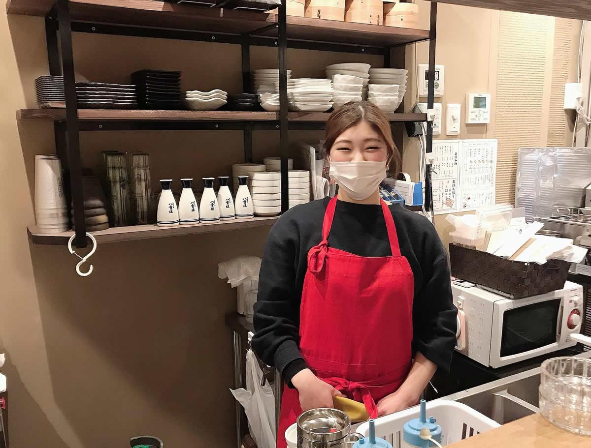 店を任された北川さくらさん