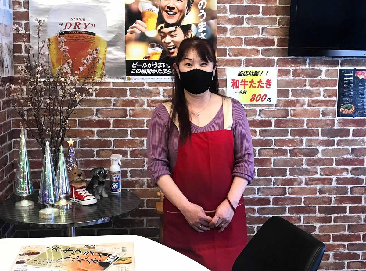 店主の森本雅子さん