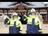 姫路・白浜の松原八幡神社で消火訓練 地元の力で文化財保護